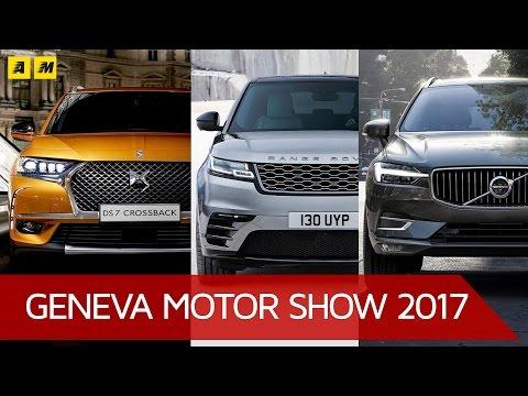 Range Rover VELAR, Volvo XC60, Citroen DS7 i 3 MIGLIORI SUV del Salone di Ginevra 2017