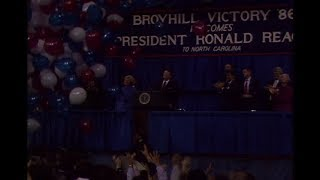 President Reagan's Remarks at a Campaign Rally for Senator James Broyhill on October 8, 1986