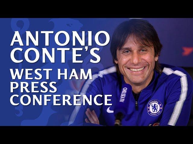 Chelsea v West Ham | Antonio Conte Press Conference