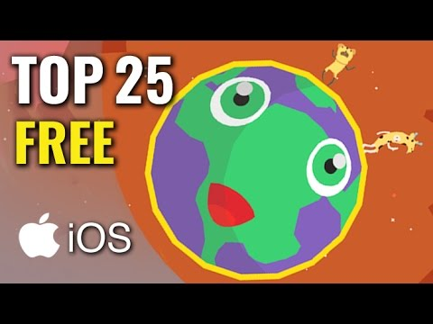 Top 25 Free Modern iOS Games | HD