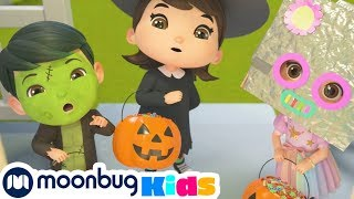 Halloween Trick or Treat | Fall Halloween Song | Rhymes & Kids Songs |  Play and Learn ABCs 123s