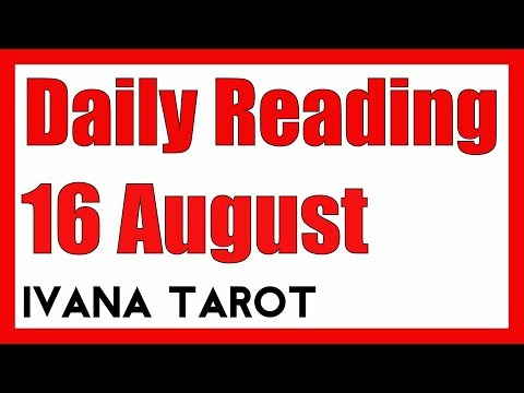 ❤️ SECRET ADMIRER OF YOURS Daily Tarot Reading 16 August 2018