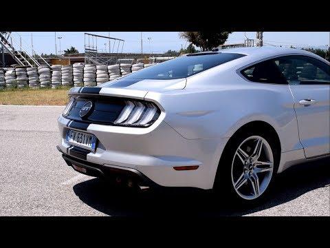 Ford Mustang 2019 V8 sound | Modalità Silenziosa vs Modalità Circuito