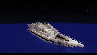 [TIMALAPSE] Bateau de luxe ( Yacht )