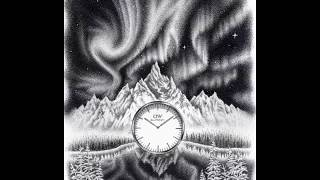 30 Hours in 30 Sec. Crazy Northern Lights Stipple Time Lapse