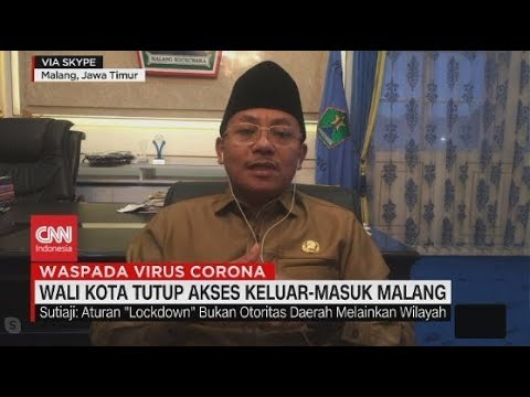 Wali Kota Tutup Akses Keluar-Masuk Malang