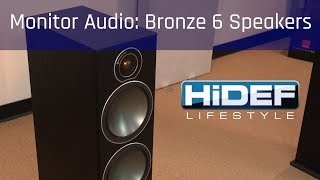 bronze 6 speakers from Monitor Audio