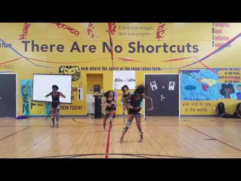 2017 8th grade African Dance