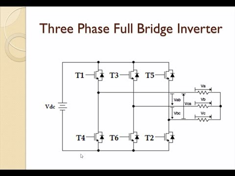 Simulation of Three Phase Inverter with Closed Loop Voltage Control -  Diamond Matlab Tutorials