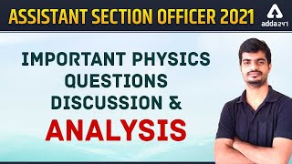 Odisha High Court ASO | Important Physics Questions | Adda247