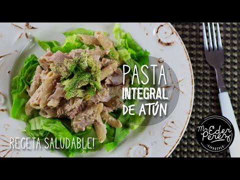 Receta saludable pasta integral de atun ensalada youtube for Ensalada de pasta integral