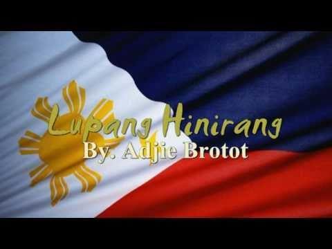 Lupang Hinirang  National Anthem of Philippines + Lyric