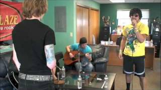 Downstait: I Came to Play (acoustic) at KQYK in Mankato, MN