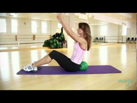 Get Great Abs With The Bender Ball Workout