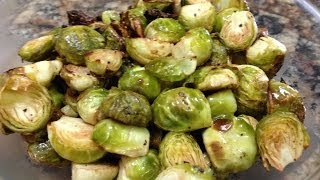 Oven Roasted Brussel Sprouts Recipe - Hasfit Lemon Garlic Brussel Sprout Recipe - Recipes
