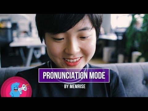 Pronunciation Mode by Memrise