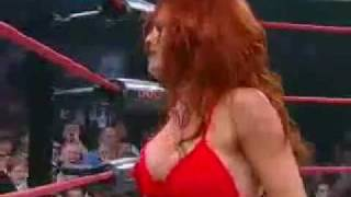 Christy Hemme  FFG Flying Firecrotch Guillotine)