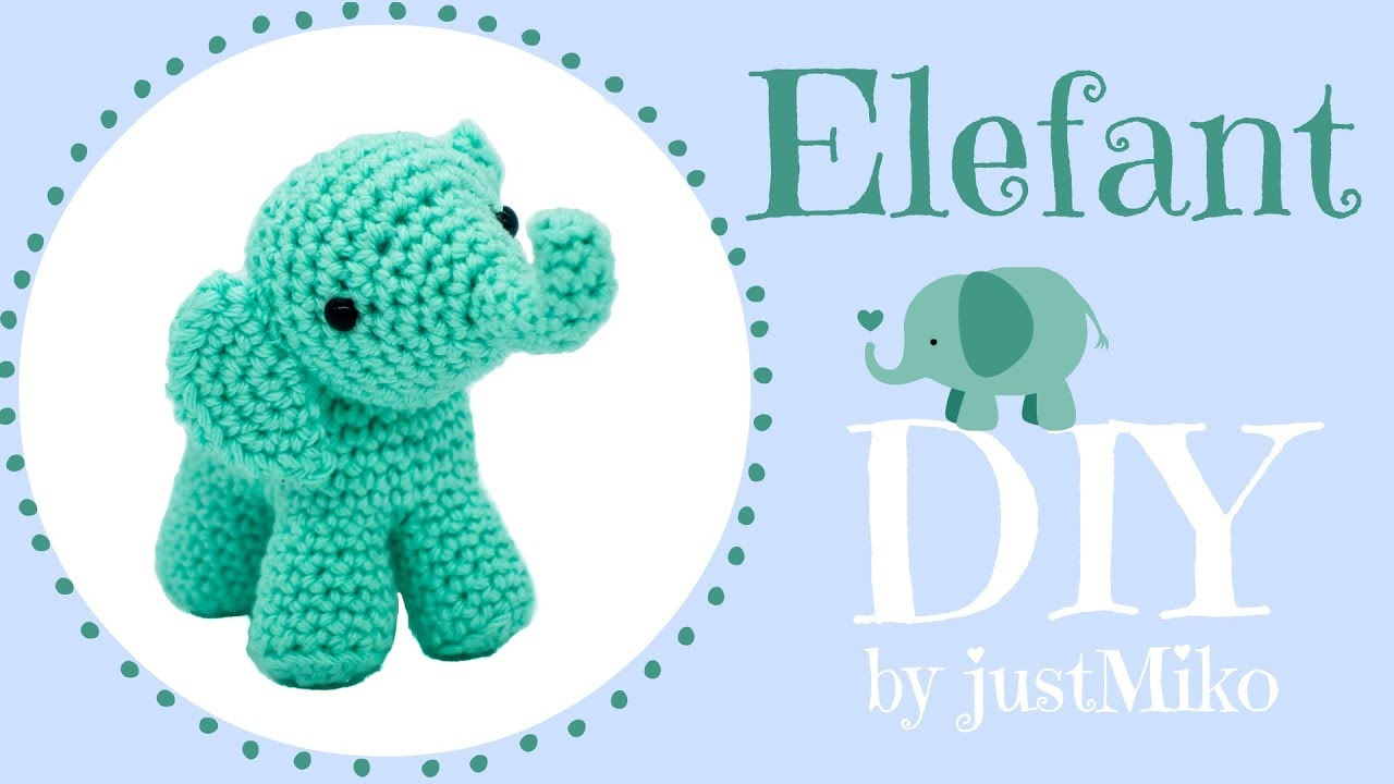 Elefant Häkeln Do It Yourself Zuschauerwunsch Youtube