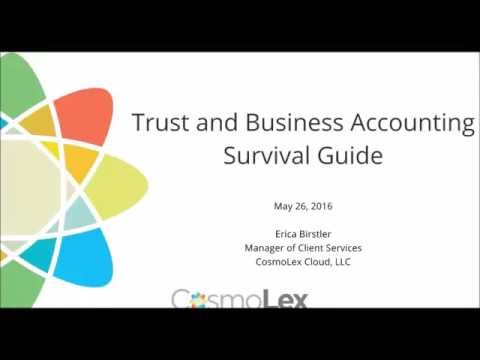 Trust  & Business Accounting Survival Guide