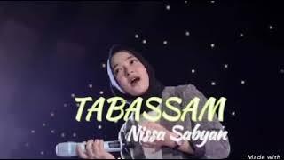 Nissa sabyan shalawat tabassam (cover foto) slide show