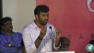 You can see the fire in Karuppi  Lyricist Vivek | Pariyerum Perumal Press Meet