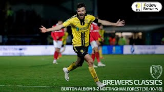 BREWERS CLASSICS | Burton Albion v Nottingham Forest - Carabao Cup Fourth Round [FULL MATCH]