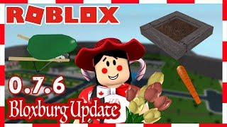 ROBLOX   BLOXBURG UPDATE 0.7.6: GARDENING, PLANTS, VASES AND MORE!