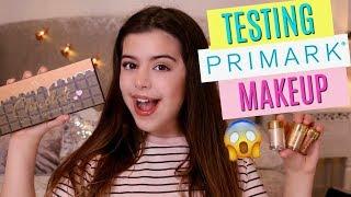 TESTING PRIMARK MAKEUP | SOPHIA GRACE