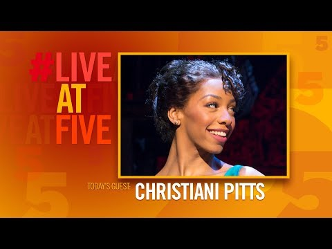 Broadway.com #LiveatFive with Christiani Pitts of A BRONX TALE