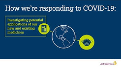 How AstraZeneca is responding to COVID-19
