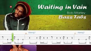 Bob Marley - Wait in Vain (Official Bass Tabs)