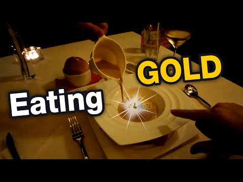 Eating GOLD in Pattaya - Fine dining food review