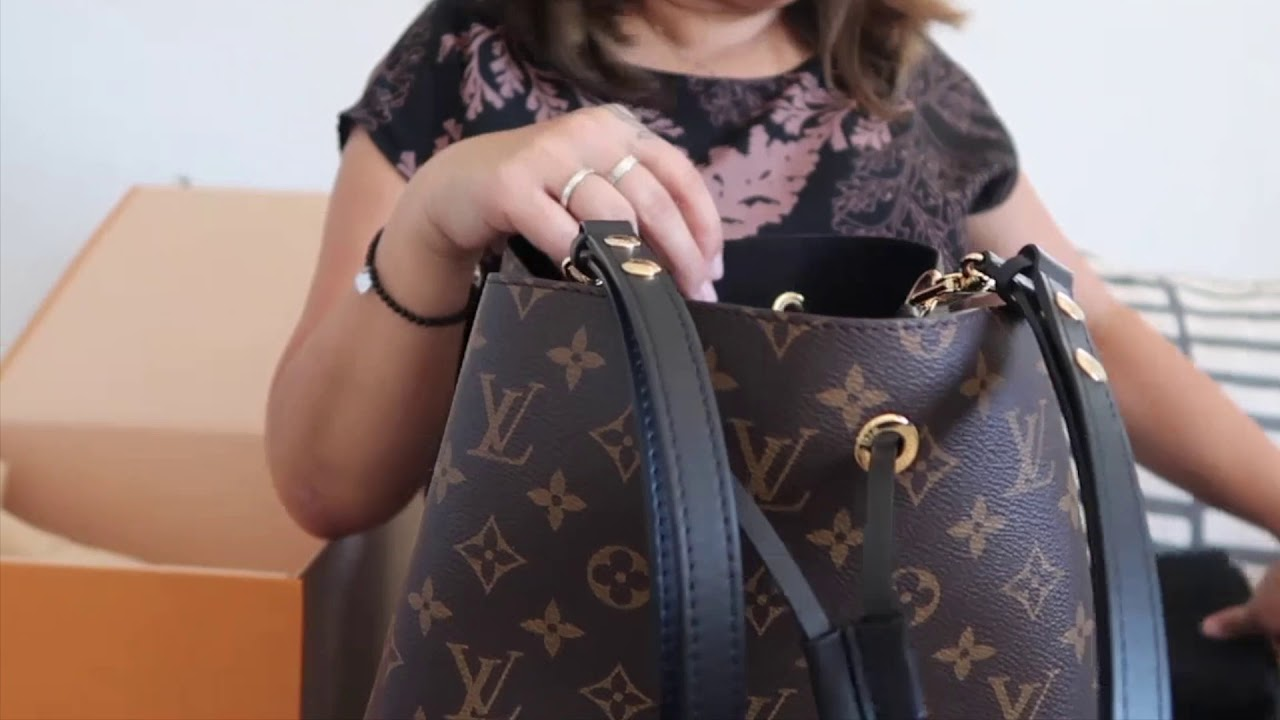 455ed899646 Louis Vuitton Neo Noe ~Purse Organizer 2 pack My thoughts - YouTube