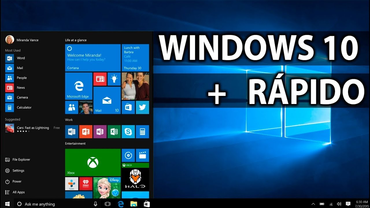 Como Hacer Mas Rápido Windows 10 Acelerar Optimizar