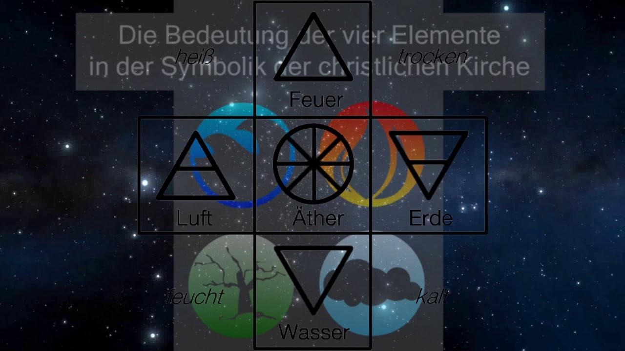 Die vier Elemente und ihre Bedeutung - YouTube