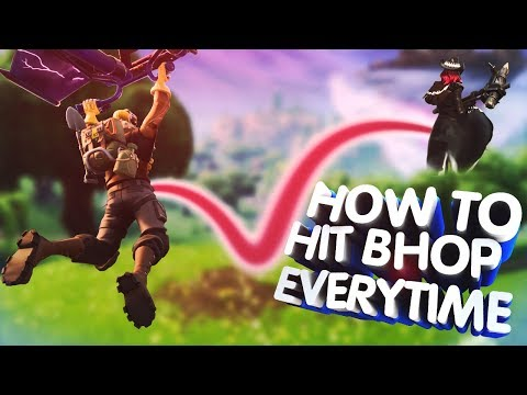 How to hit bhop after gliding in fortnite EVERYTIME