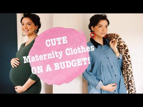 Secondhand Maternity Clothing Haul | Bekah Martinez