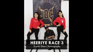 HEERIYE || RACE 3 || DANCE COVER || CHOREOGRAPHED BY KARTIK SHAW (SHAHID) JASSI DANCE CENTRE (JDC)