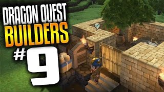 Dragon Quest Builders Gameplay - Ep 9 - Town Design (Lets Play Dragon Quest Builders