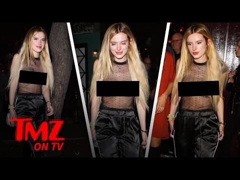 Bella Thorne Needs a Shirt | TMZ TV