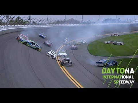 Casey Carter - Jimmie Johnson wins Clash at Daytona after most of field crashes