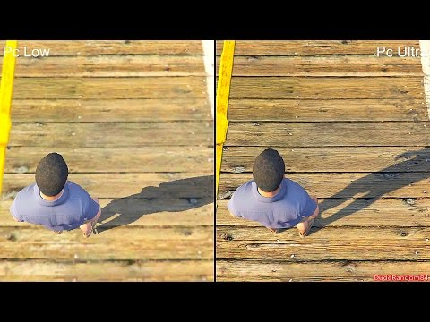GTA 5 Pc Low Vs Pc Ultra Graphics Comparison
