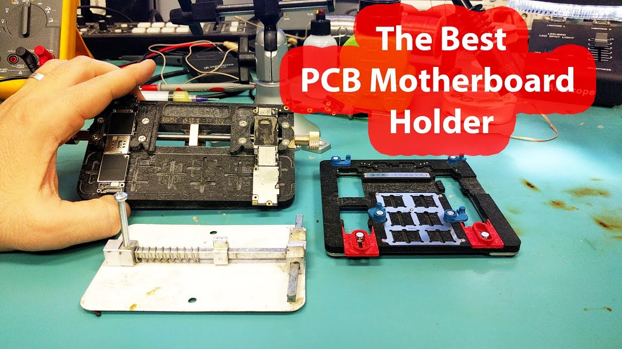 Motherboard Pcb Holders Jig Fixture Which One Is The Best Youtube New Circuit Board Holder Repairing Repair Tool For Mobile Phone