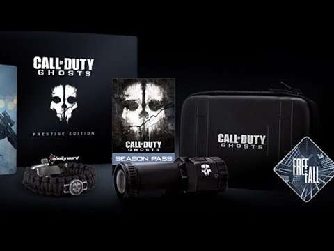 Call Of Duty: Ghosts Prestige Edition Unboxing