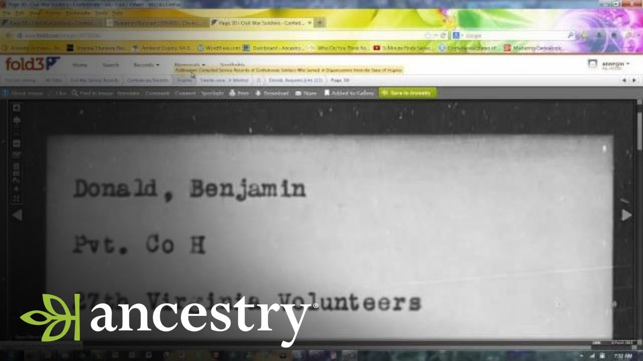 how to find out ancestry