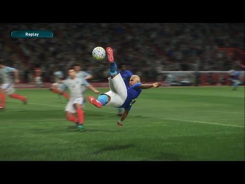 PES 2017 -Inglaterra vs Brasil - Anfield stadium - Modo Estrela Playstation 4