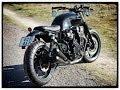 Honda CB 750 Bratstyle Cafe Racer Rewheeled #3