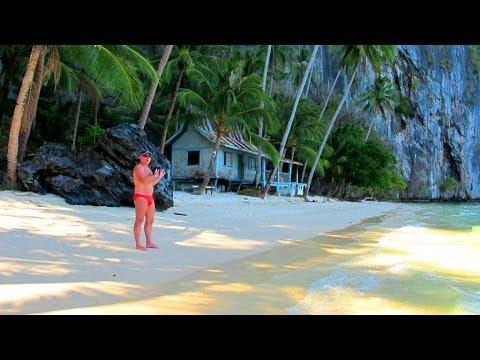 Philippines 2013, Palawan island,El Nido Town,Trip B, Bacuit Bay, part 3 us trip