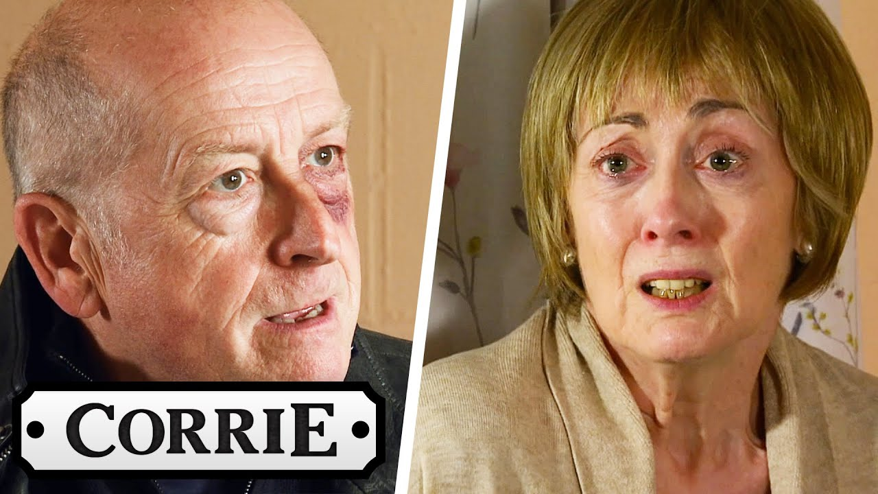 Geoff Scares Elaine To Stop Her Being Yasmeen's Witness | Coronation Street