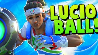 Overwatch Lucio Ball Funny Moments